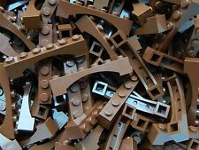 LEGO ARCH 1x6 x20 pieces # BROWN # bridge window wall castle