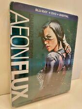 Aeon Flux Blu-ray Steelbook (Blu-ray + Dvd) - Charlize Theron