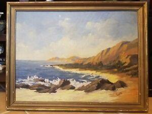 Edith Cope (1883-1975) Original California Landscape Impressionist Oil Painting