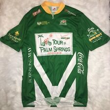 Aussie Cycling Jersey Tour De Palm Springs 2003 Green Size XXL