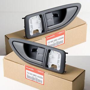 Genuine OEM Honda Del-Sol Interior Door Handles 2 PC LEFT & RIGHT 93-95 Del Sol