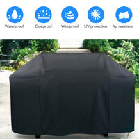 "BBQ Gas Grill Cover 57"" Barbecue Waterproof Outdoor Heavy Duty Fits Weber Model"