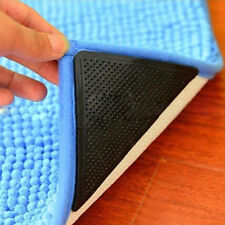 4 Packs/set Ruggies Rug Carpet Mat Grippers Non Slip Skid Reusable Washable Grip