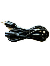 Laptop AC Adapter Power Supply Cable 3-Prong Charger Cord HP Dell Acer Sony etc.