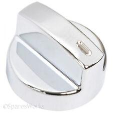 LEISURE Genuine Oven Cooker Temperature Control Hob Switch Knob Silver x 1