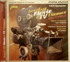 GREAT HIT MOVIE & TV THEMES - 1957-1962 - 32 Instrumental Tracks on Jasmine