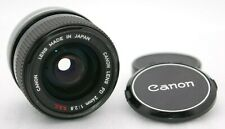 [Near Mint-] CANON LENS FD 24mm F/2.8 S.S.C. SSC Wide Angle SN 90374 From Japan