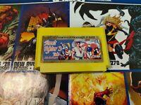 Street Fighter 3 Mario Homebrew game for Famicom, Famiclone, Pegasus 60 Pin NES