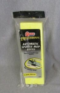 Professional Quickie Type J Automatic Sponge Mop Refill Brand New Sealed #0272