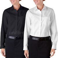 Dickies Shirts Womens Oxford Work Shirt Long Sleeve Service Shirts FL070