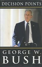 George W. Bush signed Decision Points 2010 - VG+/NF