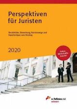 Perspektiven für Juristen 2019 Gebundenes Buch Deutsch