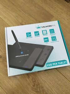 Huion H420 USB Graphics Drawing Tablet Board Kit - Black