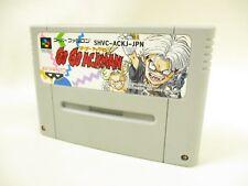 Super Famicom GO GO ACKMAN 1 Nintendo Cartridge Only sfc