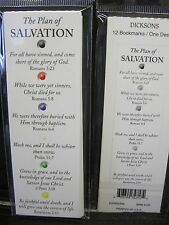THE PLAN OF SALVATION inspirational bookmarks-pack of 12