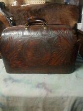 1900's Vatican Leather Dr. Bag