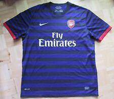 Arsenal Londres away shirt Jersey NIKE 2012-2013 les artilleurs/Adulte Taille XL