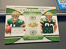 2008 Threads RC Collection Materials Combo Brian Brohm/Jordy Nelson..Packers