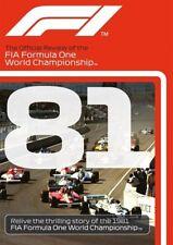FORMULA ONE 1981 - F1 Season Review - NELSON PIQUET Grand Prix 1  - Reg Free DVD