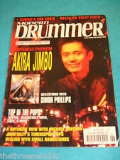 MODERN DRUMMER - AKIRA JIMBO - JUNE 2000