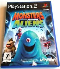 MONSTERS VS ALIENS for Playstation 2 PS2 - with box