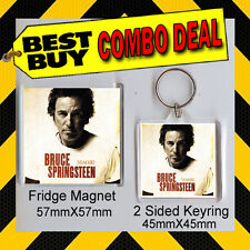 BRUCE SPRINGSTEEN -MAGIC -COMBO DEAL - KEYRING AND FRIDGE MAGNET CD567