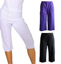 NEW FILO Quelque Stretch Capri Pants with Pockets SIZES 8 10 12 14 16 18