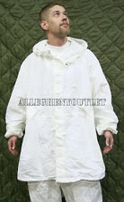 NEW US Military Snow Camouflage White Camo Winter PARKA Jacket Coat Small