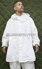 NEW US Military Snow Camouflage White Camo Winter PARKA Jacket Coat Small