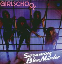 "GIRLSCHOOL "" SCREAMING BLUE MURDER "" LP NUOVO 1982  BRONZE  RARO!"