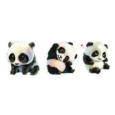 Panda Temporary Tattoo Sticker Waterproof Kids Party Favor Hand Arm 10.5X6cm