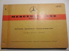 MERCEDES OM 616 ENGINE PARTS CATALOG 10215 EDITION A  PLUS 13215 SUPPLIMENT