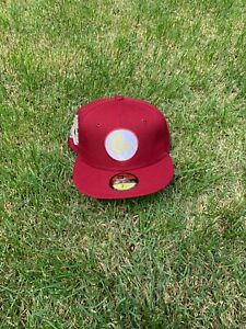 Hat Club Exclusive Red Sox All Star Game 1961 BeanPot Collection 59Fifty Grey UV