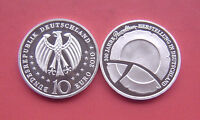 Germany 2010-F Porcelain Production in GER,300th Annv. 10 Euro Proof Sliver Coin