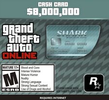 Grand Theft Auto Online (PC): Megalodon Shark Cash Card $8,000,000