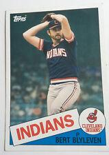 1985 topps oversize baseball card Bert Blyeven #35 4-7/8 X 6-7/8