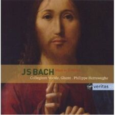 HERREWEGHE/MESSE H-MOLL - JOHANN SEBASTIAN BACH 2 CD 25 TRACKS CHOR NEU