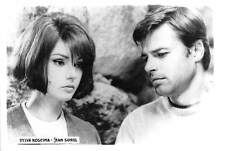 B55227 Sylvia Koscina and Jean Sorel Couple Acteurs Actors 9x7cm