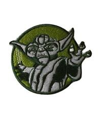 Yoda Character Star Wars Jedi Master Cosplay Iron On Patch