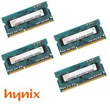 Hynix 32GB (4 x 8GB) PC3L-12800 DDR3L 1.35V SODIMM Laptop Memory (Low Voltage)
