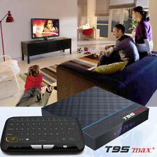 T95 MAX+ Plus 8K HDR 32GB 4GB DDR3 Android 9.0 Bluetooth Dual WiFi TV Media Box