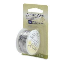 Artistic Wire Stainless Steel 22 Gauge 8 Yard Dispenser 43119  Round