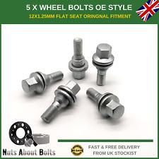 Mk1 08-13 12x1.25 Nuts for Peugeot 308 12+4 Wheel Bolts /& Locks
