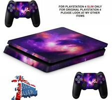 NEBULA GALAXY PS4 SLIM **TEXTURED VINYL ! **PROTECTIVE SKINS DECALS WRAP STICKER