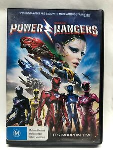 Power Rangers - DVD - AusPost with Tracking