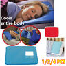 Cooling Gel Pillow Chilled Natural Comfort Sleeping Aid Body Cool Bed Mat Pad HS