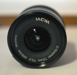 Laowa  7,5mm f/2  - Nero