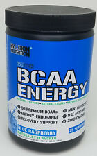 Evolution Nutrition Natural BCAA Energy Powder - Blue Raspberry [Free Shipping]