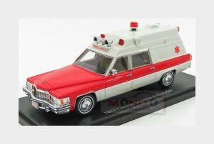 Cadillac Superior Ambulance 1977 +Barella With Stretcher NEOSCALE 1:43 NEO47241