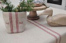 Gestreifte Tischläufer aus 100% Baumwolle